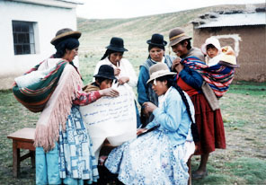 Aymara Women in Bolivia from CDIMA
